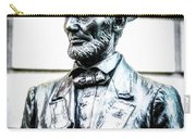 Statue Of Abraham Lincoln #8 Carry-all Pouch