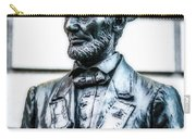 Statue Of Abraham Lincoln #9 Carry-all Pouch