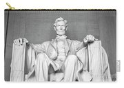 Statue Of Abraham Lincoln - Lincoln Memorial #4 Carry-all Pouch