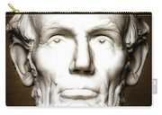 Statue Of Abraham Lincoln - Lincoln Memorial #5 Carry-all Pouch