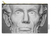 Statue Of Abraham Lincoln - Lincoln Memorial #6 Carry-all Pouch