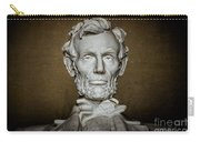 Statue Of Abraham Lincoln - Lincoln Memorial #7 Carry-all Pouch