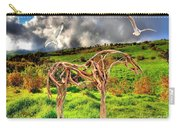 Statue Of Branches 3 Carry-all Pouch