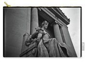 Statue Of Justice At The Courthouse In Memphis Tennessee Carry-all Pouch