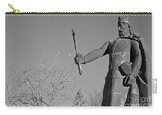 Statue Of King Afonso The Third. Portugal Carry-all Pouch