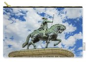 Statue Of King John I Lisbon Carry-all Pouch