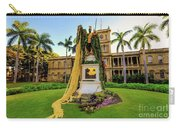 Statue Of, King Kamehameha The Great Carry-all Pouch
