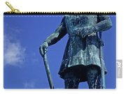 Statue Of Leif Ericksson  Carry-all Pouch