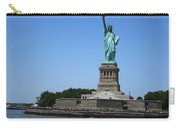 Statue Of Liberty New York America July 2015 Photo By Navinjoshi At Fineartamerica.com  Island Landm Carry-all Pouch