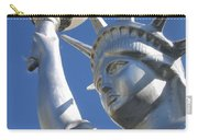 Statue Of Liberty Restaurant Courtyard Chandler Arizona 2005 Carry-all Pouch