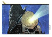 Statue Of Liberty With Steam Train, We Shall Not Fail Carry-all Pouch