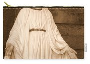 Statue Of Mary At Sacred Heart In Tampa Carry-all Pouch