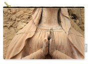 Statue Of Mary Closeup Carry-all Pouch