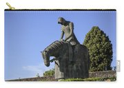 Statue Of St Francis Of Assisi  Carry-all Pouch