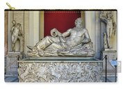 Statue Of The Greek River God Tiberinus At The Vatican Museum Carry-all Pouch