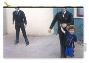 Statues Depicting Shooters In O.k. Corral Gunfight Tombstone Arizona 2004 Carry-all Pouch