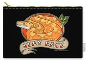 Stay Back Reticulated Python Carry-all Pouch