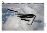 Stealth Bomber Over The Clouds Carry-all Pouch