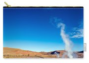 Steam At El Tatio Geysers Carry-all Pouch