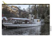 Steam Boat On Loch Katrine Carry-all Pouch