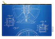 Steam Engine Blueprint Carry-all Pouch