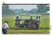 Steam Engine Plowing Carry-all Pouch