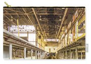 Steam Engine Repair Shop Color Carry-all Pouch