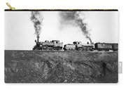 Steam Engines Pulling A Train Carry-all Pouch