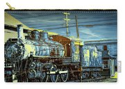Steam Locomotive Train Engine No.1395 In Infrared Carry-all Pouch