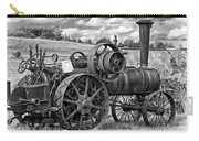 Steam Powered Tractor - Paint Bw Carry-all Pouch
