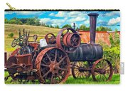Steam Powered Tractor - Paint Carry-all Pouch