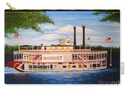 Steamboat On The Mississippi Carry-all Pouch