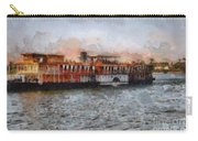 Steamboat On The Nile Carry-all Pouch