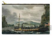 Steamboat Travel On The Hudson River Carry-all Pouch