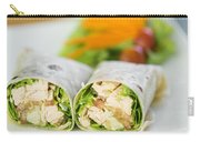 Steamed Salmon And Salad Wrap Carry-all Pouch