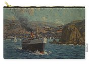Steamer Leaving Avalon. Catalina Island Carry-all Pouch