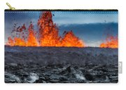 Steaming Lava And Plumes Carry-all Pouch