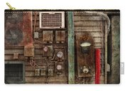 Steampunk - The Future  Carry-all Pouch by Mike Savad