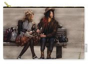 Steampunk - Time Travelers Carry-all Pouch by Mike Savad