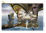 Steampunk Dragon Library Carry-all Pouch