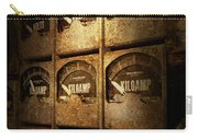 Steampunk - Naval - Electric - Power Grid Carry-all Pouch