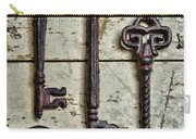 Steampunk - Old Skeleton Keys Carry-all Pouch