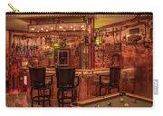 Steampunk Speakeasy Mancave Bar Art Carry-all Pouch
