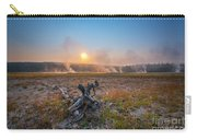 Steamy Sunrise In Yellowstone Carry-all Pouch