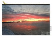 Steamy Winter Sunset Carry-all Pouch