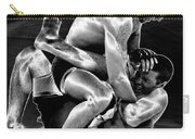 Steel Men Fighting 5 Carry-all Pouch