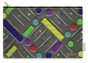Steel Plate Geometrics Carry-all Pouch