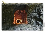 Steel Wool Photography In A Cave Carry-all Pouch