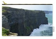 Steep Sheer Sea Cliff's Known As The Cliff's Of Moher Carry-all Pouch