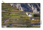 Steep Slope Viticulture In Valais Canton Carry-all Pouch